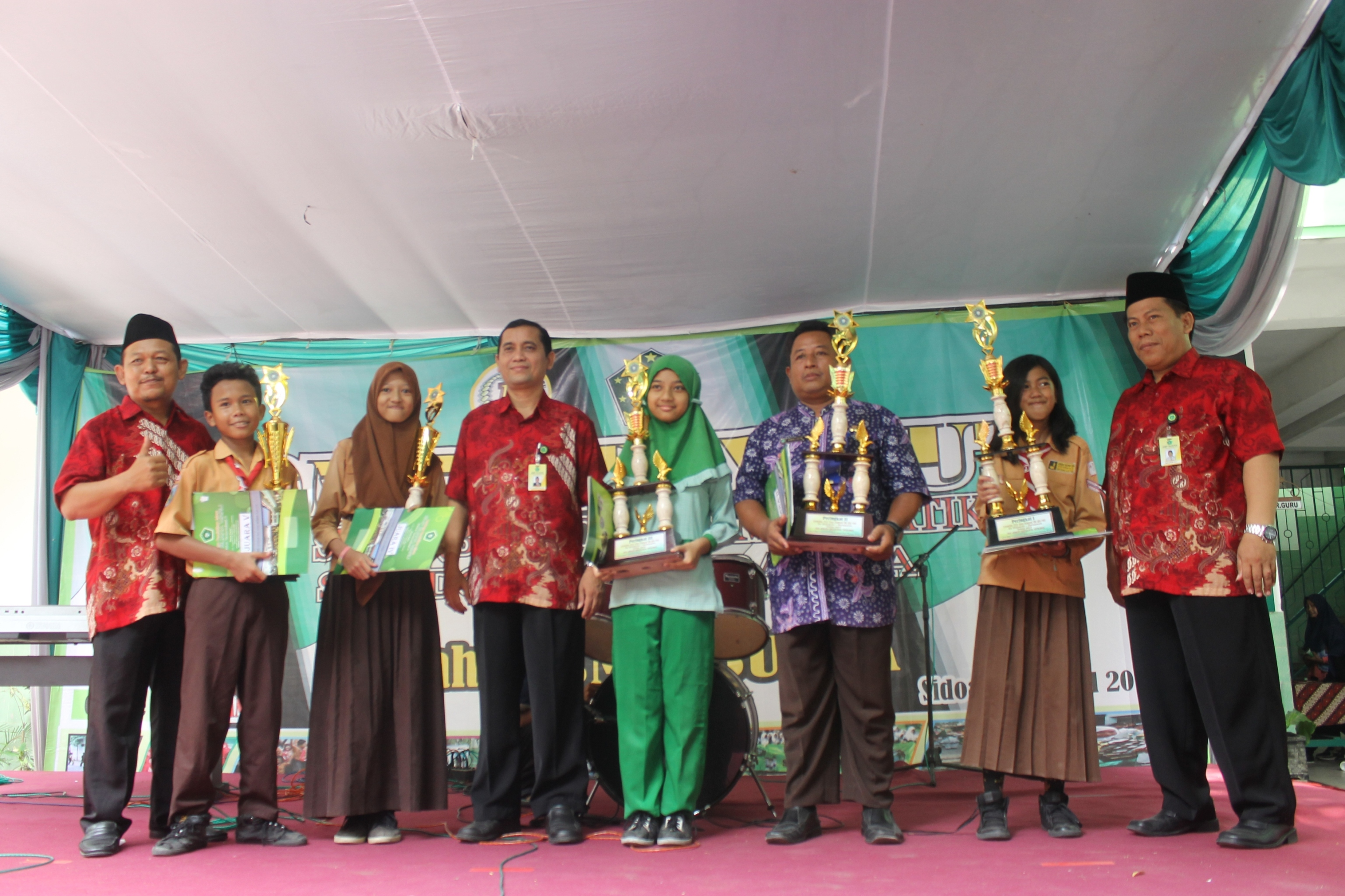 Juara Lomba Try Out Mapel US 2016