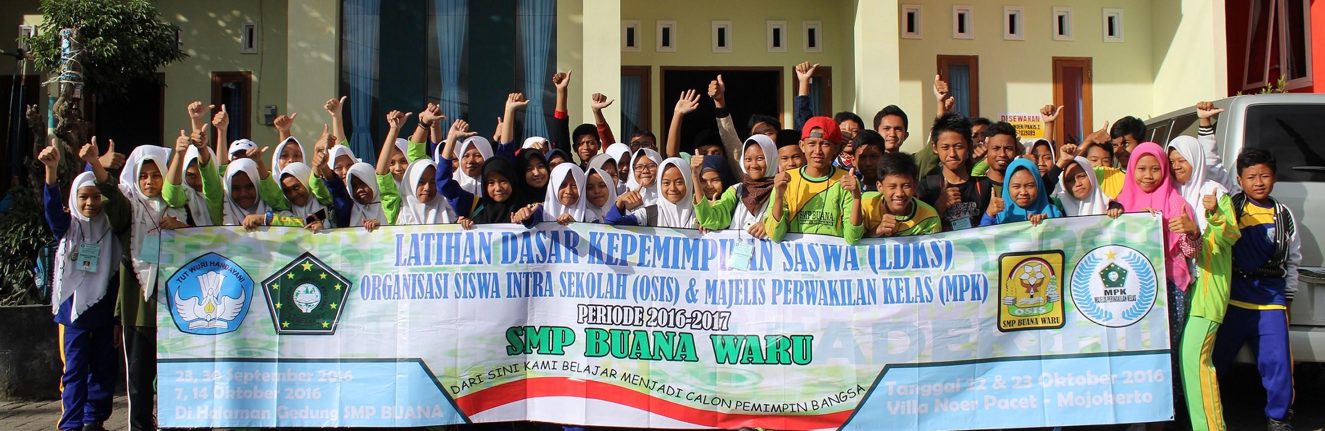 Serunya LDKS Osis dan MPK SMP Buana Masa Bakti 2016/2017 di Villa Katon + Nur Pacet